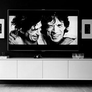 Vägghängd tv bänk New Air 201 cm