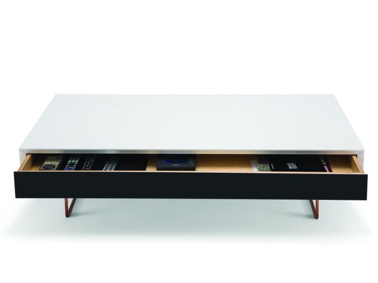 Air soffbord med låda svart öppen