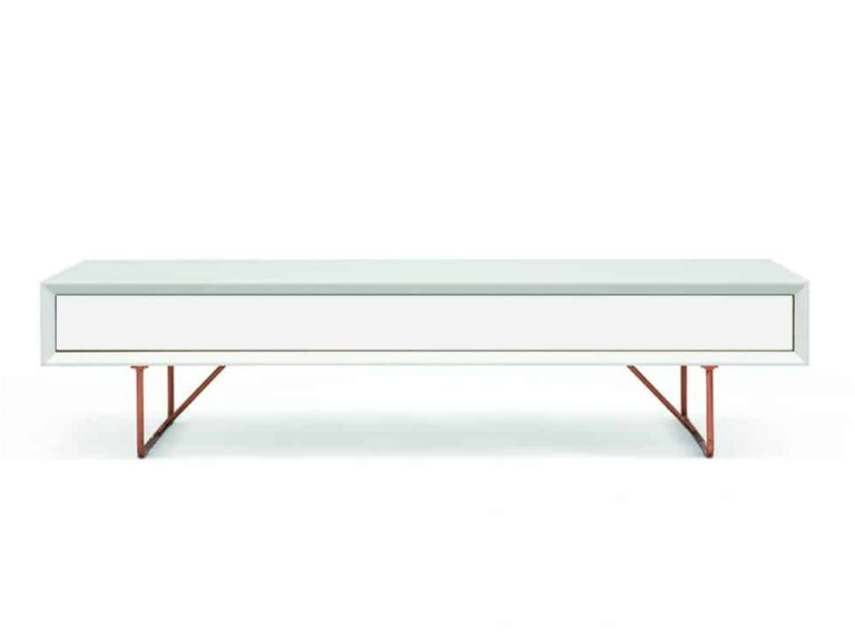 Air Soffbord med låda vit