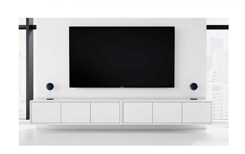 Tv Bänk Blocket : V?ggh?ngd tv b?nk new air vit l cm d bagge design