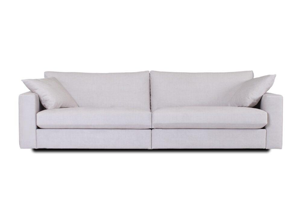Queen Modulsoffa 2 sektioner 252 cm tyg off white