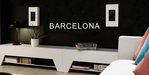 BARCELONA TV-BÄNK