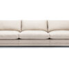 Prince soffa 3 sitsar 6 sits tyg Linara beige