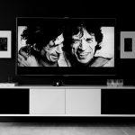 Vägghängd Tv-bänk New Air 4 dörr