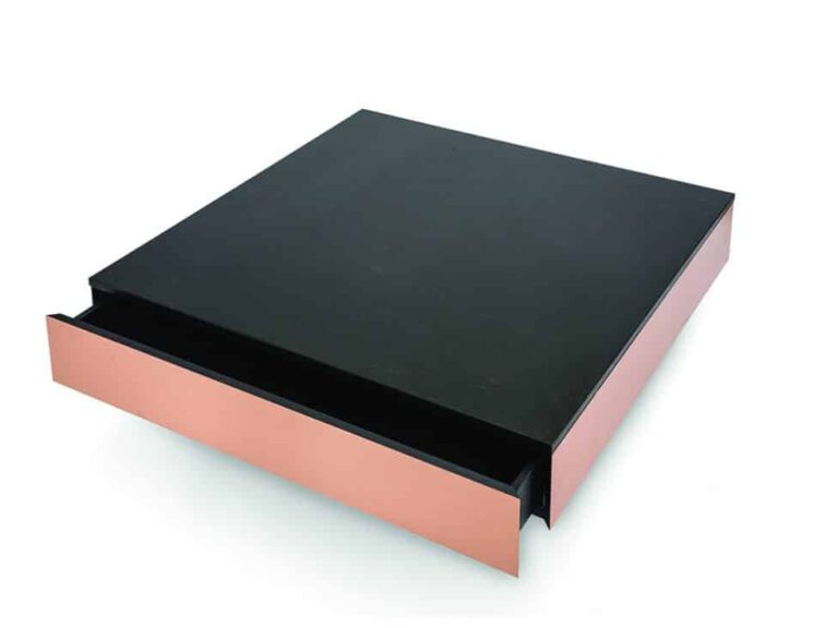 Copper Box soffbord med lådor