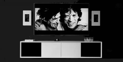 New Air Vägghängd Tv Bänk vit