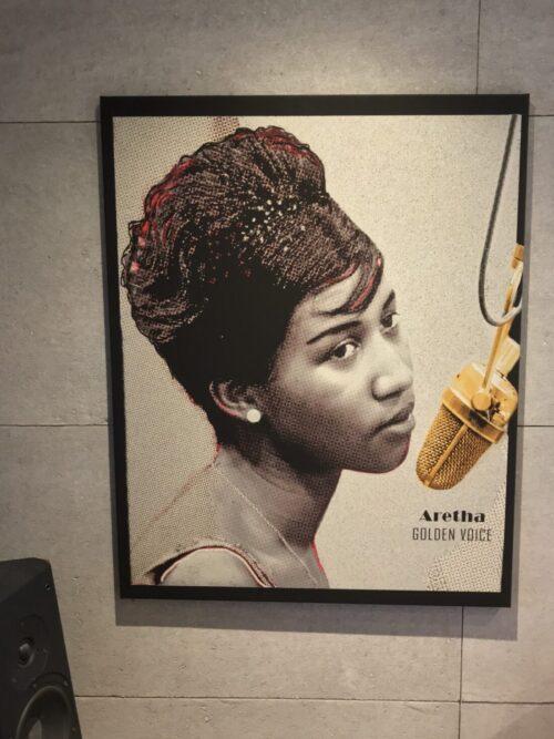 Tavla Aretha Franklin Golden Voice
